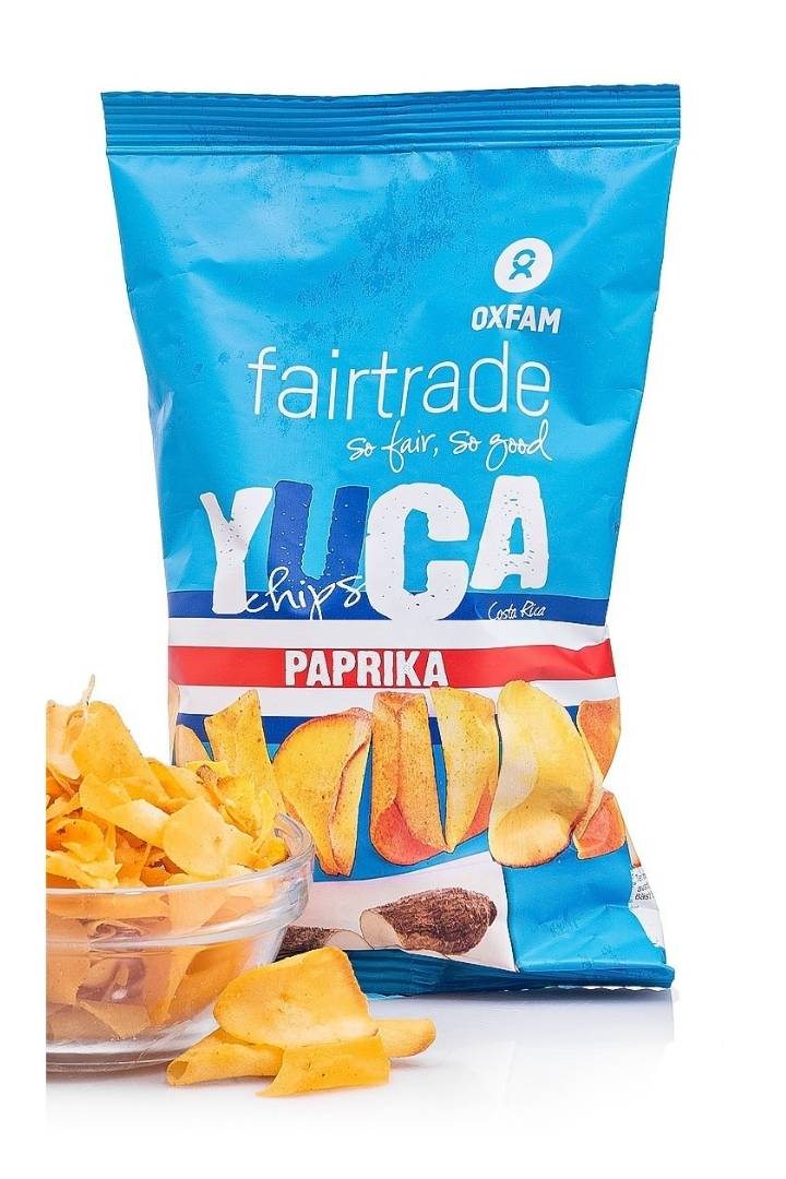 Yucas con Paprika