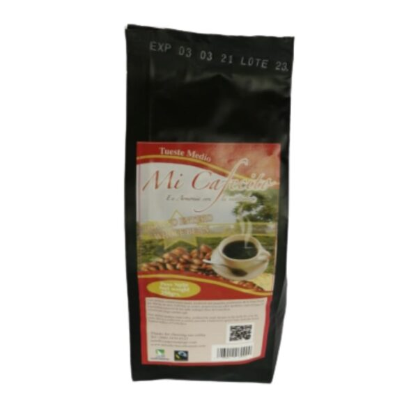 Café en grano Mi Cafecito 250g $6