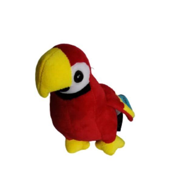 Lapa roja peluche